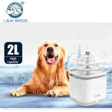 Ceramic Pet Water Feeder Dog Drinking Fountain Purifier Cat Watering