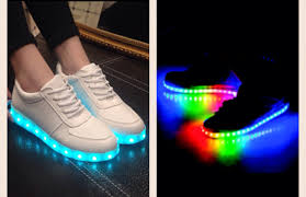 sneakers that light up on the bottom these pair of light up shoes on the hunt