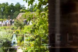 walled garden cowdray wedding