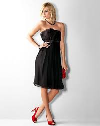 black bridesmaid dresses with red shoes dress pinterest