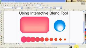 corel draw x4 blend tool tool in coreldraw x6 download