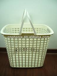 plastic laundry hamper plastic laundry basket with handle plastic laundry basket with