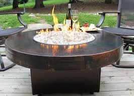 global outdoors fire table global outdoors gas fire table pit insert round diy natural kit