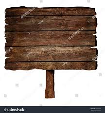 wooden sign isolated on white wood stock photo 111500306