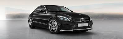 obsidian black color mercedes c class sedan design mercedes benz middle east