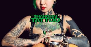 shanghai tattoo zhuo dan ting the queen of tattoo in china
