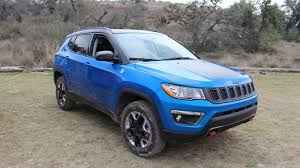 jeep compass limited blue 2017 jeep compass first drive review