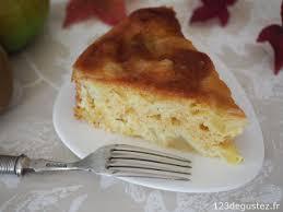 mesure cuisine sans balance gâteau aux pommes léger et sans balance
