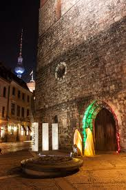Fine Art Lighting Fixtures by Festival Of Lights Berlin Guardians Of Time By Sculptor Manfred