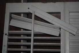Wooden Louvre Blinds How To Repair Broken Slats On Louvre Shutters 3 Steps With Pictures