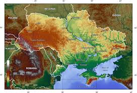 Topographic Map Of Arizona by Topographic Map Of Ukraine Interesting Map Maps Pinterest