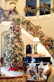 christmas decoration living room with tree warm decor led lighting