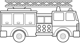 fire truck coloring color fire truck fire engine