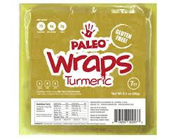 where to buy paleo wraps paleo wraps gluten free turmeric wraps 7 count pantry takeover