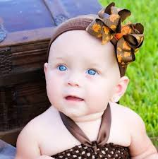 baby girl headbands and bows buy dainty fall brown orange leaves baby girl headband online at