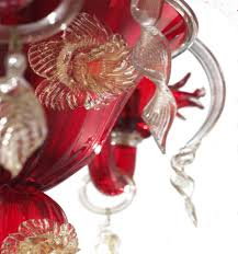 san marco black 6 lights glass chandelier jpg