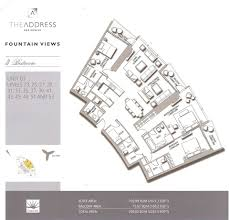 floor plans by address the address views 1 and 2 floor plans 13 dubai
