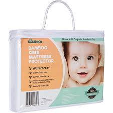 Dust Mite Crib Mattress Cover Kiddleco Waterproof Bamboo Crib Mattress Pad Protector Wall S
