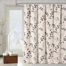 Brown Floral Curtains Buy Gray Floral Curtains From Bed Bath U0026 Beyond