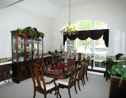 dining room table runner ideas dressing table runners cool bay window dressing idea feat chic