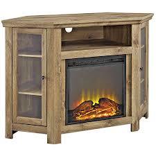 Electric Corner Fireplace New Barn Wood Finish Electric Corner Fireplace Media Tv Up To 52