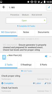 mobile cmms free maintenance and work order apps fiix