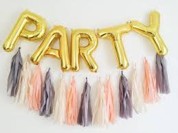 gold letter balloons party letter balloons tassel garland gold or silver foil