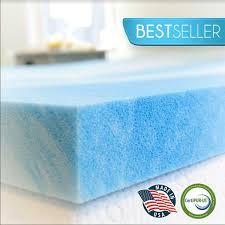 cool gel memory foam mattress topper advanced sleep solutions