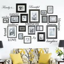 living room wall stickers wall decals you ll love wayfair