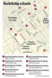 San Jose Convention Center Map by Rocketship Education Changes Course Slows Expansion U2013 The Mercury