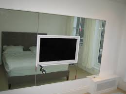 Bedroom Wall Units by Mirrored Wall Media Cabinet Best Home Furniture Decoration