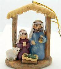 nativity ornament ebay