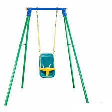 balancoire siege bebe balançoire individuel avec siège bébé métallique 135 00 la