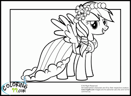 my littlr pony rainbow dash coloring pages coloring home