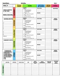 a teacher u0027s plan templates