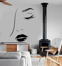 compare prices on sexy beautiful eyes wall sticker online girls beauty salon wall stickers lips sexy woman eye removable living room wall decal modern fashion