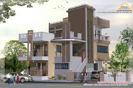 home design 3 story house 1890 sq ft kerala and floor regarding