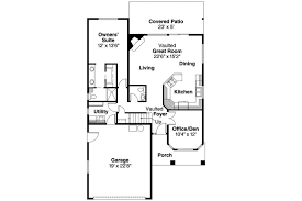 Where To Find House Plans Narrow Lot House Plan 76168 Total Living Area 991 Sq Ft 2 1150