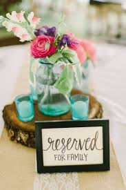 reserved signs for wedding tables reserved table signs for wedding