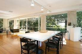 Dining Room Track Lighting by Photo 5 Of 21 In An Amazing Tree Covered Glass House For Sale In