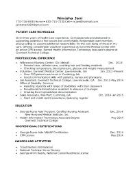 dialysis technician resume with no experience absolutely ideas