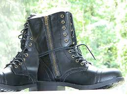 womens style boots size 11 brash deejay lace up style black boots size 11 w