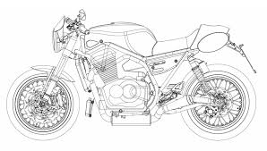 drawings of motorbikes how to draw a motorcycle step step