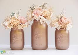 25 cute mason jar hydrangea ideas on pinterest gold glitter