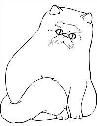 wonderful cute cat coloring pages wallpapers incredible
