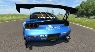 mazda rx7 drift rx 7 drift falken for beamng drive