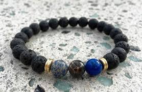 black bead bracelet ebay images You complete me relationship bracelets alpha accessories png