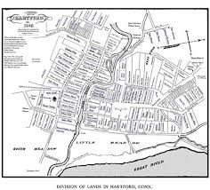 Map Of Connecticut Towns Governor Thomas Welles Wethersfield Historical Society