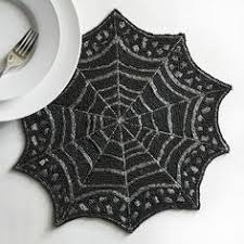 pier1 2017 beaded spider web placemat an eerily elegant