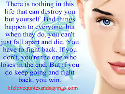 Meredith Grey Love Quotes by There Is Nothing In This Life That Can Destroy You But Yourself